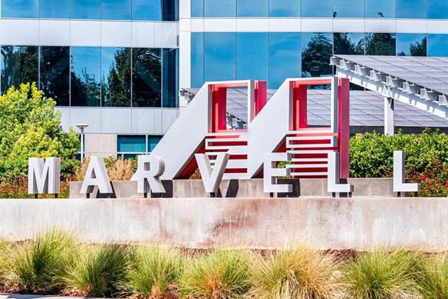 The Marvell campus in Santa Clara, Calif. - ANDREI GABRIEL STANESCU   DREAMSTIME.COM