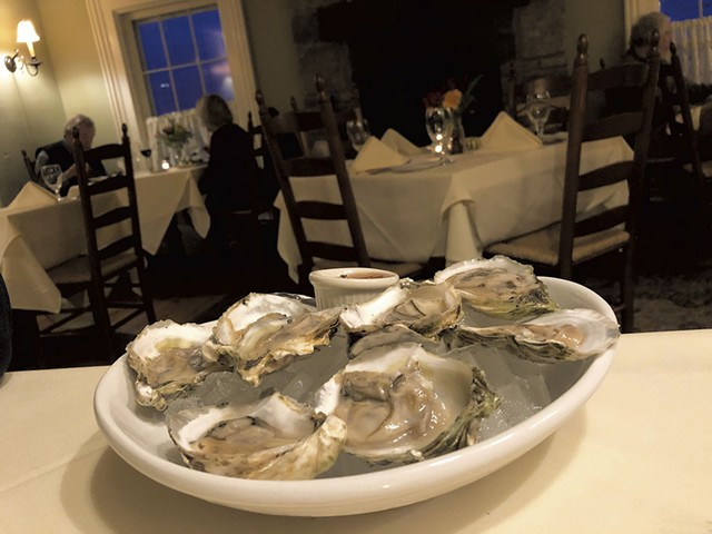 Oyster night at Tourterelle - JORDAN BARRY