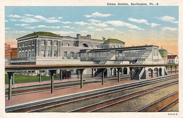 Union Station, circa 1920