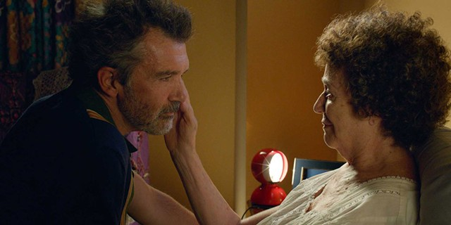 ALL ABOUT ME Banderas plays a filmmaker in Almodóvar's self-referential - film that manages to sidestep self-glorification.