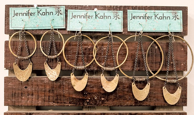 Jennier Kahn earrings - OLIVER PARINI