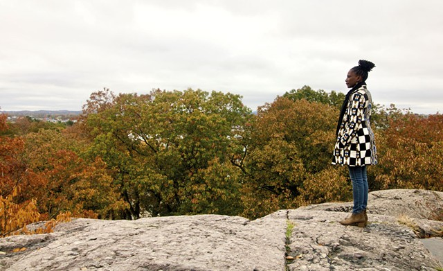 """Fly,"" a photograph of U Meleni by Shanta Lee Gander - COURTESY OF SHANTA LEE GANDER"