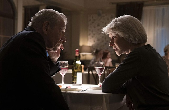 LIES AND WHISPERS McKellen and Mirren play a con man and his prey in a cat and-mouse drama that isn't up to their level.