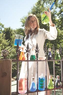 Jenn Karson with an Arduino - MATTHEW THORSEN