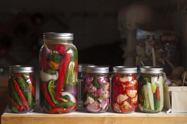Pickles in waiting - HANNAH PALMER EGAN