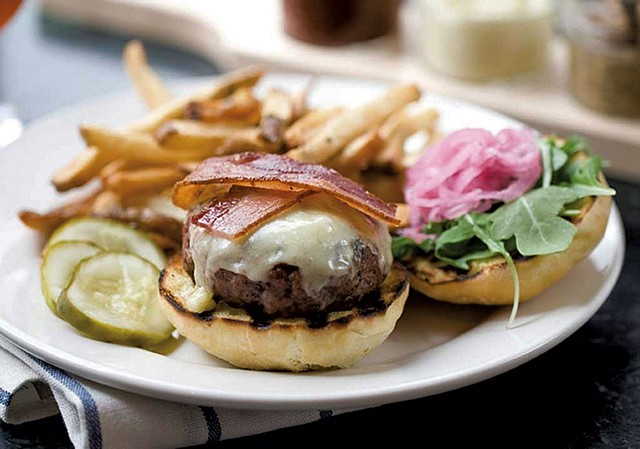 Farmhouse Tap & Grill burger - COURTESY OF FARMHOUSE TAP & GRILL