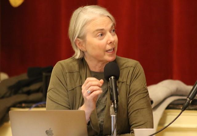 Councilor Joan Shannon (D-South District) - COURTNEY LAMDIN