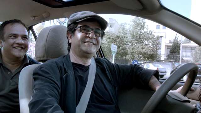 Jafar Panahi in Taxi - COURTESY OF VERMONT INTERNATIONAL FILM FOUNDATION