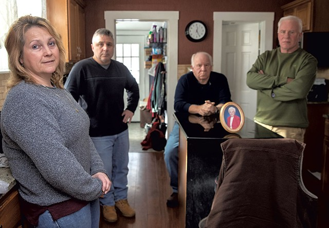Sherry Boudreau and family - JAMES BUCK