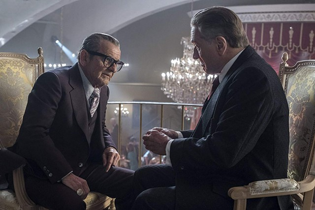 MOB RULE Pesci and De Niro return to their good fellowship in Scorsese's crime epic about the rise and fall of a loyal enforcer.