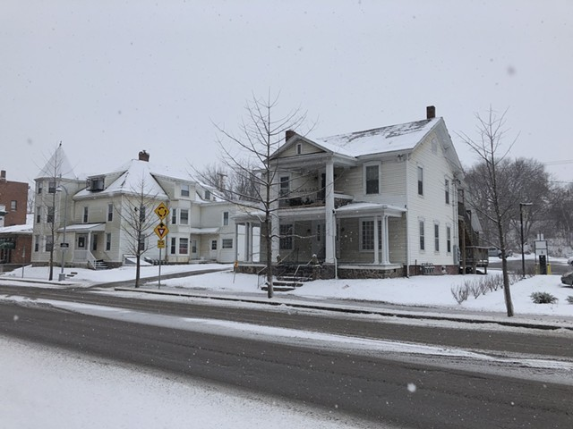 The house at 41 East Allen Street in Winooski - MOLLY WALSH