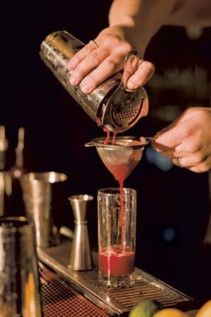 A nonalcoholic drink at Deli 126 - OLIVER PARINI