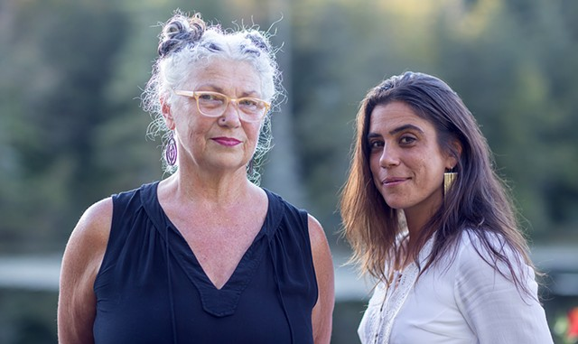 Peg Tassey and Miriam Bernardo - FILE: LUKE AWTRY