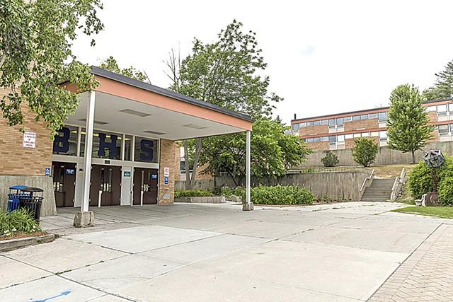 Burlington High School, where the Burlington Technical Center is located - FILE: OLIVER PARINI
