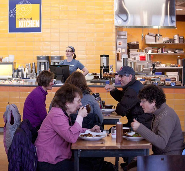Breakfast at South End Kitchen - FILE: MATTHEW THORSEN