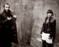 Colin Stetson and Sarah Neufeld - COURTESY OF COLIN STETSON AND SARAH NEUFELD