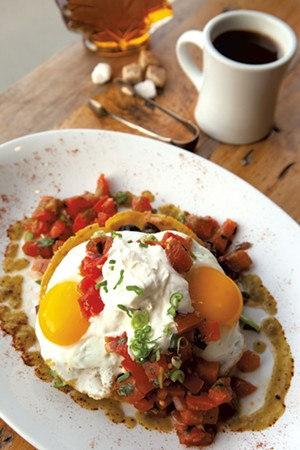 Breakfast offering from 3 Squares Café - FILE: MATTHEW THORSEN