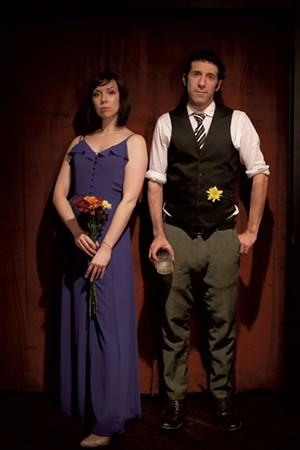 Andriana Chobot and Joshua Glass - COURTESY PHOTO