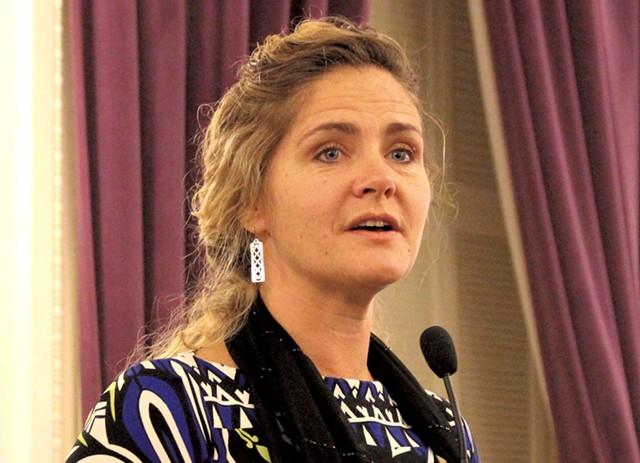 Rep. Sarah Copeland Hanzas - FILE: PAUL HEINTZ