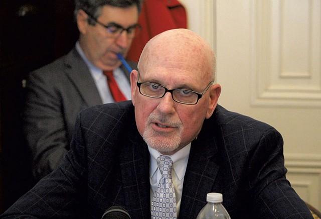 Interim Corrections Commissioner Jim Baker - PAUL HEINTZ
