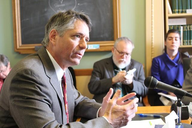 Vermont Public Interest Research Group executive director Paul Burns - FILE: PAUL HEINTZ