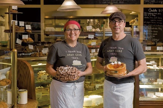 Chef-owners Alison Lane and Andrew Silva - OLIVER PARINI