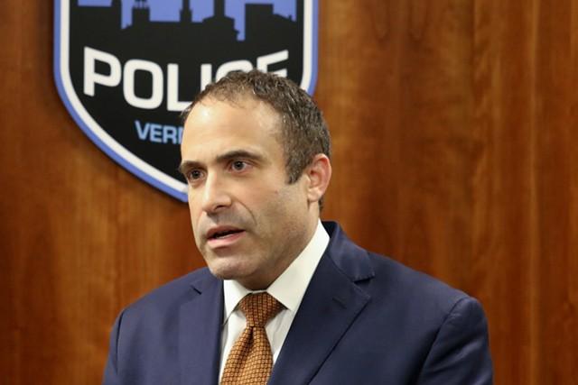 Former Burlington police chief Brandon del Pozo - FILE: DEREK BROUWER