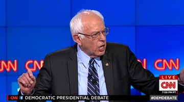 Sen. Bernie Sanders - SCREENSHOT
