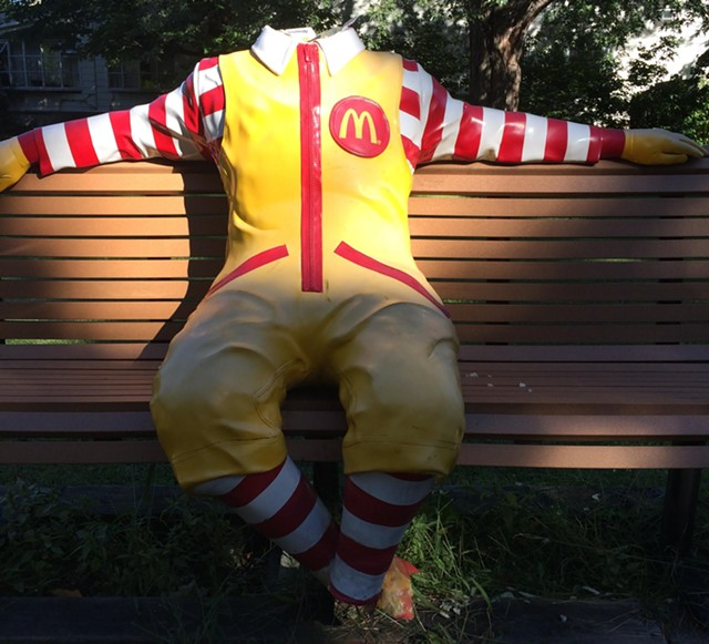 Ronald McDonald - COURTESY: KRISTINE BICKFORD