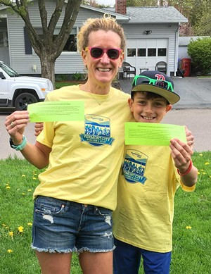 Angela Duquette-Catlett and her son - COURTESY PHOTO
