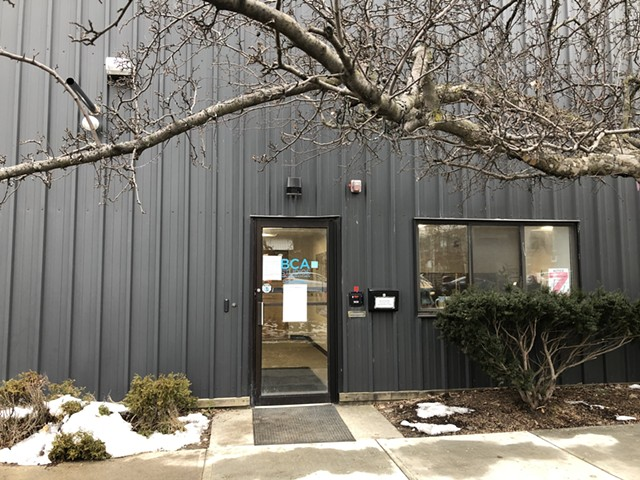 The outside of 405 Pine Street - MOLLY WALSH
