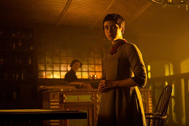 GROWING UP GRIMM Lillis plays a young woman absorbing dangerous knowledge in Perkins' twisted twist on the folktale.