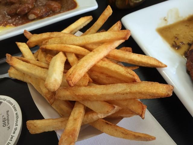 Medium Belgian fries ($2.40) - ALICE LEVITT