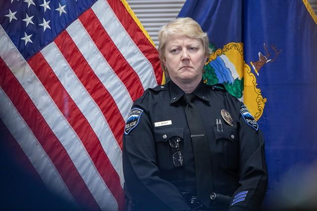 Deputy Chief Jan Wright - FILE: LUKE AWTRY