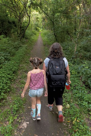 Exploring the Burlington Wildways - COURTESY OF ZOE RICHARDS