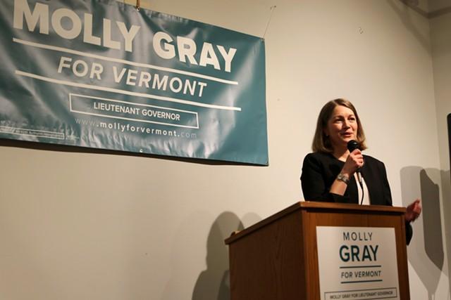 Molly Gray - COLIN FLANDERS