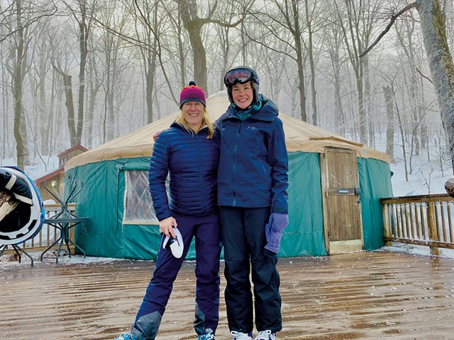 Lisa Gosselin Lynn (left) and Abagael Giles - COURTESY PHOTO
