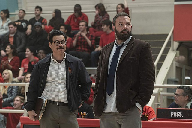 BASKET CASE Affleck's performance as a hard-drinking - high school coach didn't help his stalled career rebound.