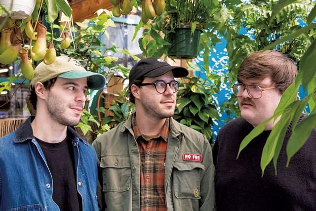 Alex Raine, Evan Raine and Remi Russin - LUKE AWTRY