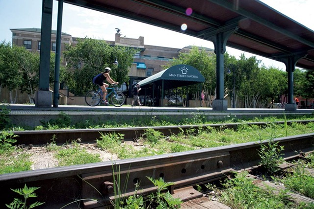 Union station in Burlington - FILE: MATTHEW THORSEN