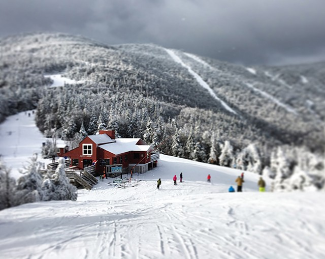 Sugarbush Resort shut down Sunday - COURTESY OF CHARLOTTE HARRIS