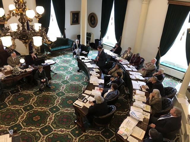 The Vermont Senate - FILE: ALICIA FREESE