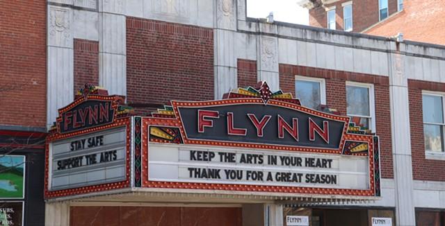 The Flynn marquee - MARGARET GRAYSON