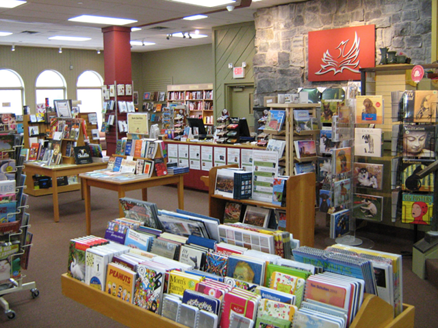 Phoenix Books in Burlington - COURTESY OF PHOENIX BOOKS IN BURLINGTON