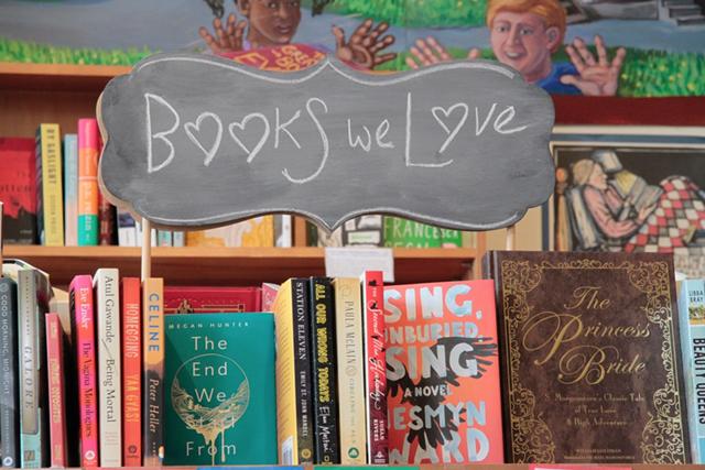 Bookshelves at Galaxy Bookshop - COURTESY OF GALAXY BOOKSHOP