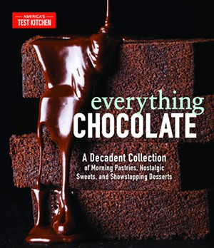 'Everything Chocolate: A Decadent Collection of Morning Pastries, Nostalgic Sweets, and Showstopping Desserts' by America's Test Kitchen