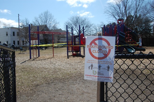 Roosevelt Park in the Old North End - MATTHEW ROY