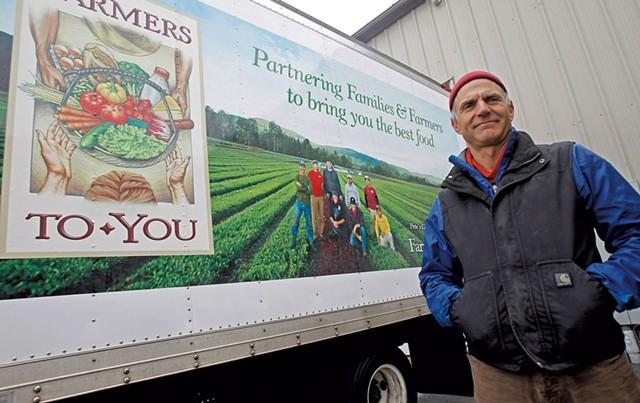 Farmers To You founder Greg Georgaklis - AP/TOBY TALBOT