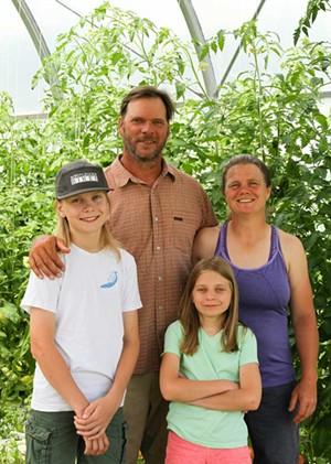 Mark Fasching, Christa Alexander and their children - COURTESY OF CAROL SULLIVAN