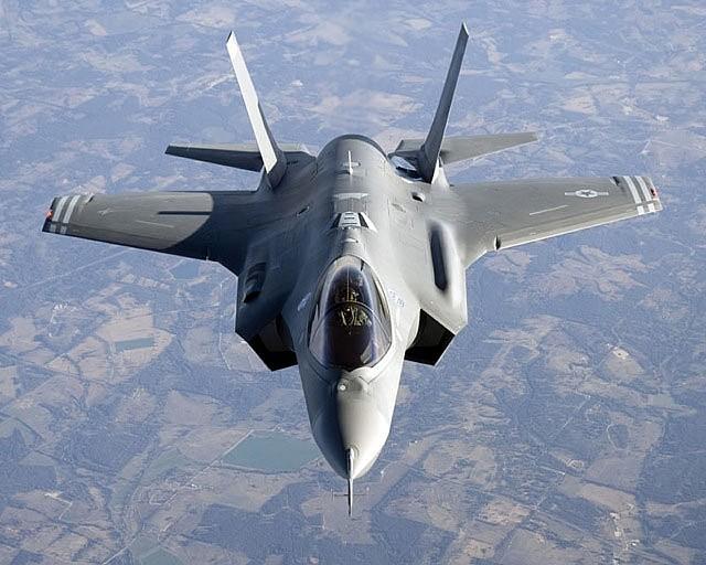 An F-35 - FILE